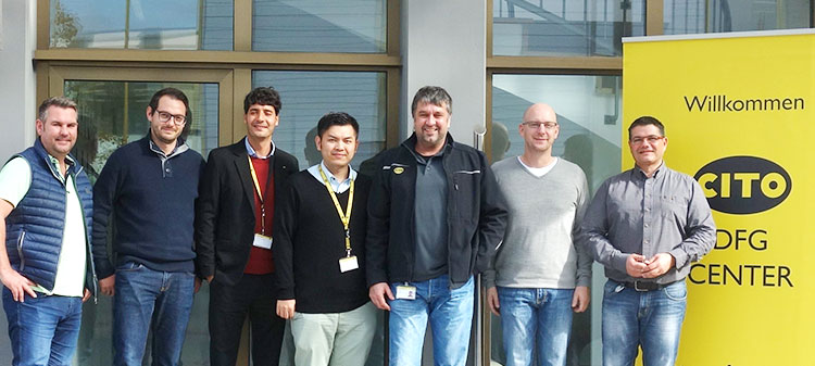 Our Chinese agency Fortune visit us in Schwaig
