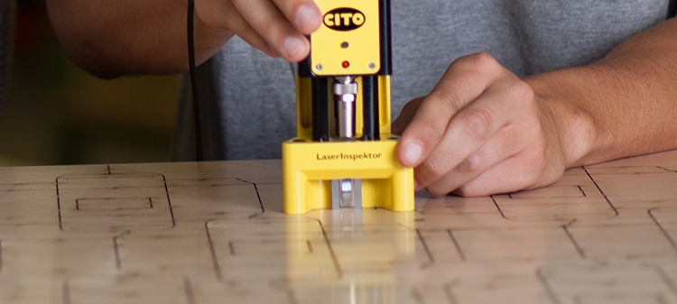 Product video CITO LaserInspektor