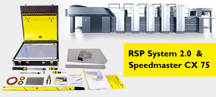 One for All! A strong combination – RSP System 2.0 and Speedmaster CX 75
