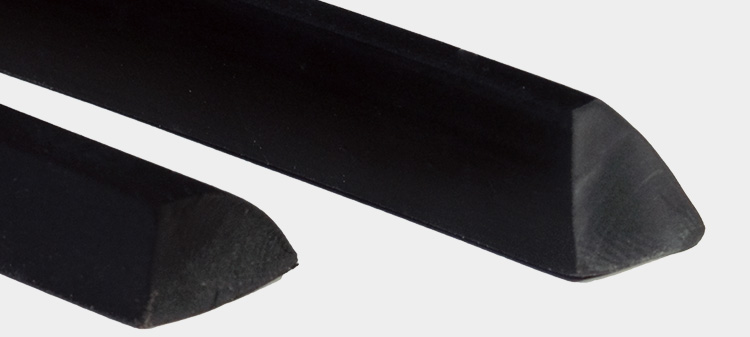 Solid rubber profile A/1