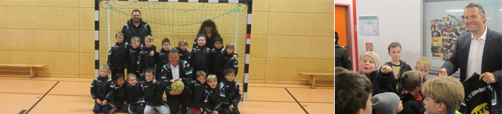 CITO sponsors FC Röthenbach young footballers
