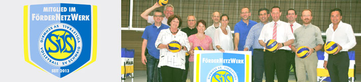 Sponsorship network for SV Schwaig Volleyball Team