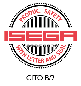 CITO B/2 certified as safe to manufacture food packaging
