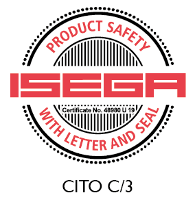 CITO C/3 certified as safe to manufacture food packaging