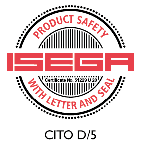 CITO D/5 certified as safe to manufacture food packaging