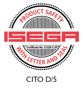 CITO D/5 certified