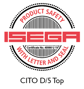 CITO D/5 Top certified as safe to manufacture food packaging