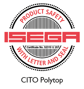 CITO Polytop certified for food packaging