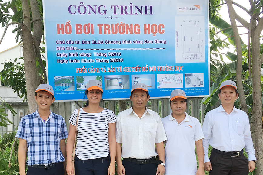 World Vision Projekt in Nam Giang