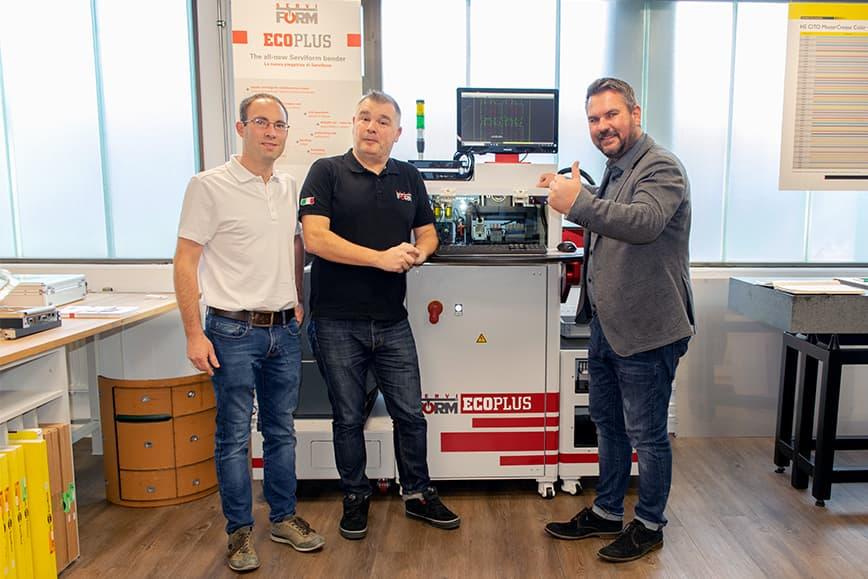 SERVIFORM SRL equips the DFG CENTER with two new machines