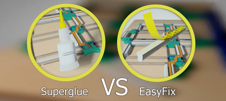 CITO EasyFix technology – superglue-free laser cuts! See for yourself!