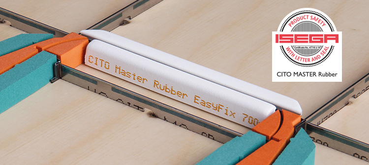 Healthy news! CITO MASTER Rubber – certified materials for your cutting die