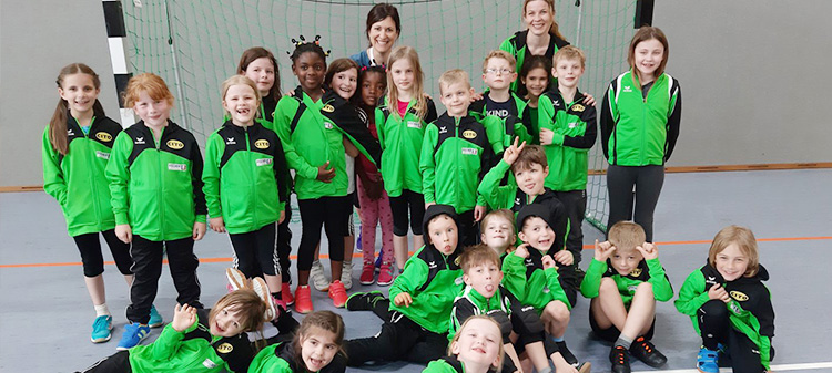 "CITO sponsors the youngsters (""Minis"") of the SpVgg Diepersdorf handball team"