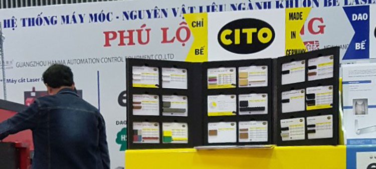 CITO products presented at PRINT & PACK 2017 in Vietnam