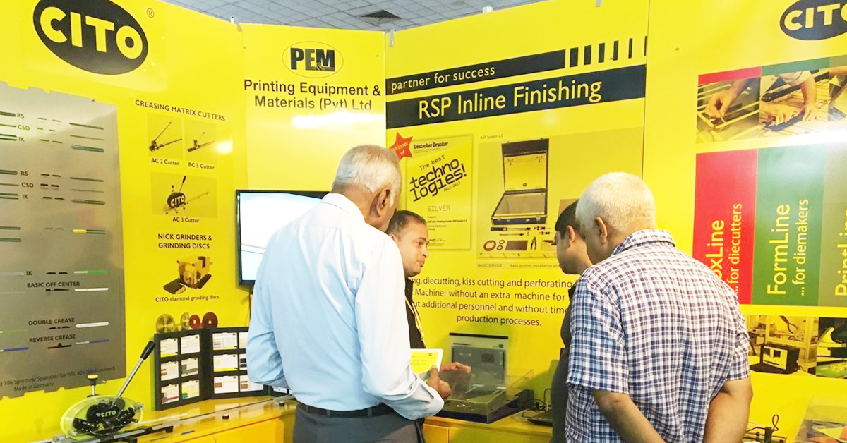 Successful exhibition in Sri Lanka